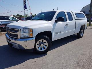 Used 2012 Chevrolet Silverado 1500 LS Extended Cab 2WD 2wd, Natural gas conversion for sale in Dunnville, ON