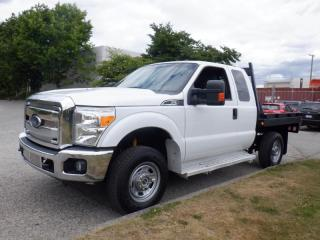 Used 2016 Ford F-350 SD Flat Deck 7 feet 3 passenger  SuperCab 4WD for sale in Burnaby, BC