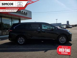 New 2021 Toyota Sienna XLE 7-Passenger AWD  - Sunroof for sale in Simcoe, ON