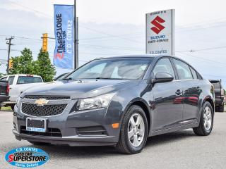 Used 2013 Chevrolet Cruze LT ~Nav ~Bluetooth ~Heated Leather ~Power Seat for sale in Barrie, ON