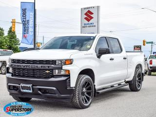Used 2020 Chevrolet Silverado 1500 Crew Cab 4x4 ~5.3 V8 ~Bluetooth ~Cam ~Trailer Tow for sale in Barrie, ON