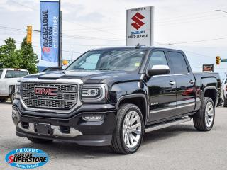Used 2016 GMC Sierra 1500 Denali Ultimate Crew 4x4 ~Nav ~Cam ~Leather ~Roof for sale in Barrie, ON
