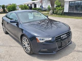 Used 2014 Audi A5 2.0T QUATTRO PREMIUM for sale in Barrie, ON