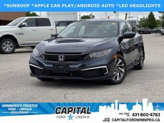 Used 2019 Honda Civic Sedan EX for sale in Winnipeg, MB