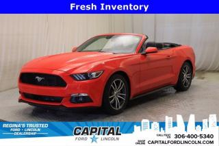 Used 2017 Ford Mustang EcoBoost Premium Convertible **New Arrival** for sale in Regina, SK