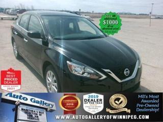 Used 2017 Nissan Sentra SV* Bluetooth/Heated Seats/Sunroof for sale in Winnipeg, MB