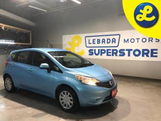 Used 2014 Nissan Versa Note * Cruise Control * Steering Wheel Controls * Hands Free Calling * Keyless Entry * Climate Control * AM/FM/CD/Aux * 12V DC Outlet * Automatic Drivers W for sale in Cambridge, ON