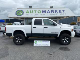 Used 2005 Dodge Ram 3500 SLT Quad Cab 4WD LIFTED! INSPECTED! FREE BCAA & WRNTY! for sale in Langley, BC