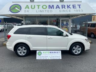 Used 2013 Dodge Journey SE LOCAL NO ACCIDENTS FREE BCAA MBRSHP & WRNTY! for sale in Langley, BC