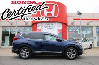 Used 2019 Honda CR-V Touring -  HONDA CERTIFIED - RATES STARTING @ 3.69% - for sale in Sudbury, ON