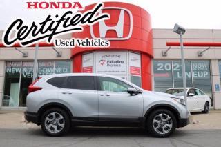 Used 2018 Honda CR-V EX - HONDA CERTIFIED - RATES STARTING @ 3.69% - for sale in Sudbury, ON