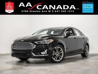 Used 2020 Ford Fusion Hybrid Titanium for sale in North York, ON