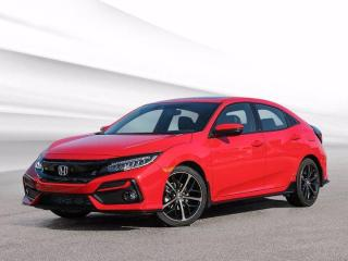 New 2021 Honda Civic Hatchback Sport Touring for sale in Bridgewater, NS