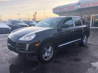 Used 2009 Porsche Cayenne FRONT/REAR PARKING SENSORS SUNROOF BLUETOOTH for sale in Calgary, AB