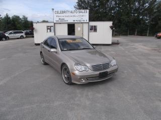 Used 2005 Mercedes-Benz C230 Kompressor for sale in Elmvale, ON