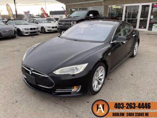 Used 2014 Tesla Model S P85 NAVIGATION BACKUP CAMERA PANORAMIC ROOF for sale in Calgary, AB