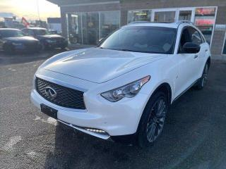 Used 2017 Infiniti QX70 LIMITED NAVI BCAMERA for sale in Calgary, AB