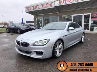 Used 2013 BMW 6 Series 650i M PKG AWD GRAN COUPE for sale in Calgary, AB