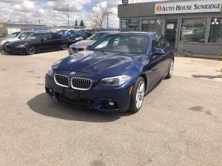 Used 2016 BMW 5 SERIES 528I xDrive AWD NAVI BCAM HUD for sale in Calgary, AB