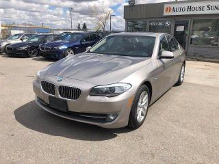 Used 2013 BMW 5 SERIES 528I xDrive AWD NAVI BCAM LANE ASST for sale in Calgary, AB