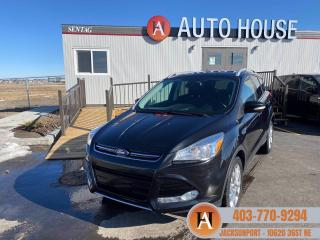 Used 2015 Ford Escape titanium AWD LEATHER BACKUP CAM for sale in Calgary, AB