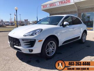 Used 2017 Porsche Macan NAVI BCAM PANO ROOF LANE ASSIST for sale in Calgary, AB