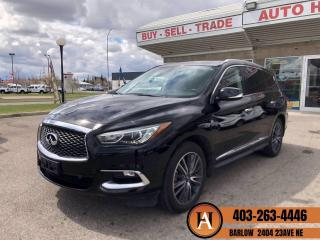 Used 2017 Infiniti QX60 NAVI BCAM DVD'S PANOROOF for sale in Calgary, AB