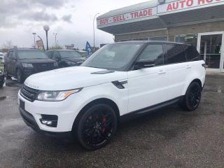 Used 2015 Land Rover Range Rover Sport V8 SUPERCHARGED DYNAMIC NAVI BCAM for sale in Calgary, AB