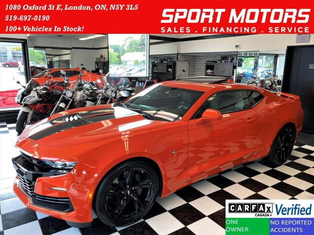 2019 Chevrolet Camaro 2SS 6.2L V8+2 ToneCooled Leather+Roof+CLEAN CARFAX