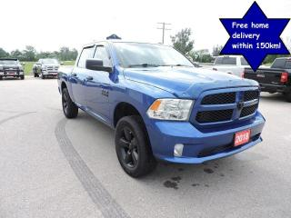 Used 2018 RAM 1500 Express Hemi 4X4 New brakes and tires. 74000 km's for sale in Gorrie, ON