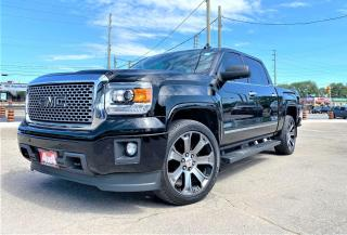 Used 2015 GMC Sierra 4WD Crew Cab Denali SAFETY CERTIFED NO ACCIDENT LO for sale in Oakville, ON