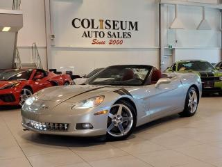 Used 2006 Chevrolet Corvette CONVERTIBLE-HEADS UP DISPLAY-RED LEATHER-6 SPEED for sale in Toronto, ON