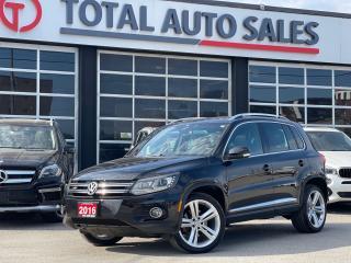 Used 2016 Volkswagen Tiguan R-LINE | NAVI | PANO | REAR CAM | XENON for sale in North York, ON