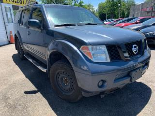 Used 2006 Nissan Pathfinder LE/4WD/LOADED/DRIVES GOOD for sale in Scarborough, ON