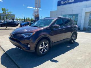 Used 2018 Toyota RAV4 XLE AWD/LEATHER/NAV/SUNROOF/BACKUPCAM/HEATEDSEATS for sale in Edmonton, AB