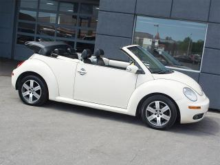 Used 2006 Volkswagen New Beetle CONVERTIBLE|LEATHER|ALLOYS|POWER TOP for sale in Toronto, ON