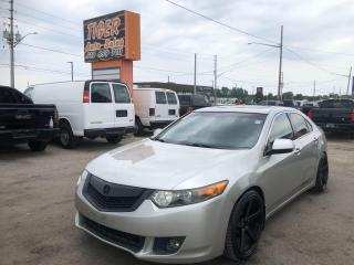 Used 2009 Acura TSX 6 SPEED MANUAL*WHEELS*LEATHER*LOADED*AS IS for sale in London, ON