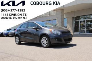 Used 2013 Kia Rio LX+ HEATED SEATS | CRUISE CONTROL | BLUETOOTH for sale in Cobourg, ON