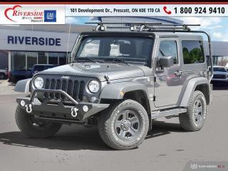Used 2018 Jeep Wrangler JK Sport for sale in Prescott, ON