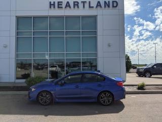 Used 2017 Subaru WRX Sport-tech SUNROOF | LEATHER | BACK UP CAMERA | NAVIGATION | HEATED SEATS-USED EDMONTON SUBARU DEALER for sale in Fort Saskatchewan, AB