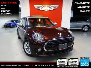 Used 2016 MINI Cooper Clubman CLUBMAN ACCIDENT FREE | CERTIFIED | FINANCE | 9055478778 for sale in Oakville, ON