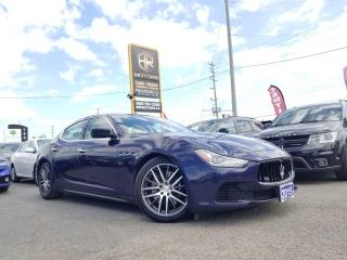 Used 2015 Maserati Ghibli No Accidents | S Q4 | Sun roof | Certified for sale in Brampton, ON