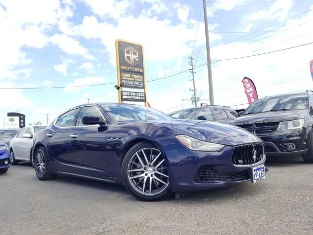 2015 Maserati Ghibli No Accidents   S Q4   Sun roof   Certified