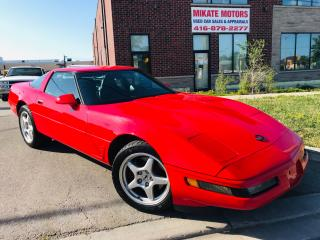 Used 1995 Chevrolet Corvette HARD TOP CONVERTIBLE for sale in Rexdale, ON