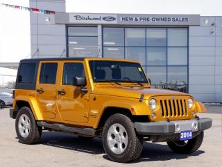 Used 2014 Jeep Wrangler Sahara 1 OWNER | NAV | AUTO | HARD TOP for sale in Winnipeg, MB