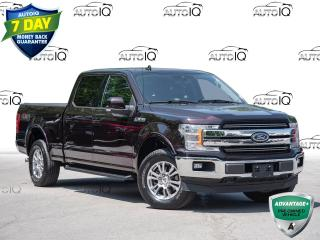 Used 2019 Ford F-150 Lariat Twin Panel Moonroof       Long Bed       Leather Trimmed Seats for sale in St Catharines, ON