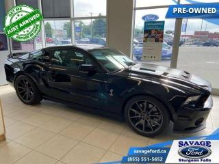 Used 2014 Ford Mustang SHELBY GT500  - Leather Seats - $579 B/W for sale in Sturgeon Falls, ON