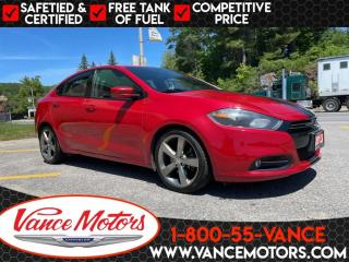 Used 2013 Dodge Dart GT...BLUETOOTH*LEATHER* SUNROOF! for sale in Bancroft, ON