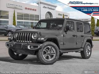 New 2021 Jeep Wrangler Unlimited Sahara for sale in Surrey, BC