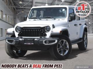 Used 2019 Jeep Wrangler Unlimited Sahara*Adaptive Cruise*NAV*Leather*Tow for sale in Mississauga, ON